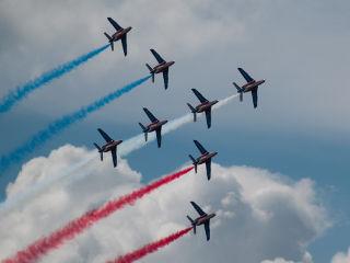 Patrouille de France Armada Rouen 2013
