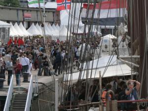 Visite des navires le 7 juin