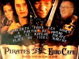 Pirates of the euro Café